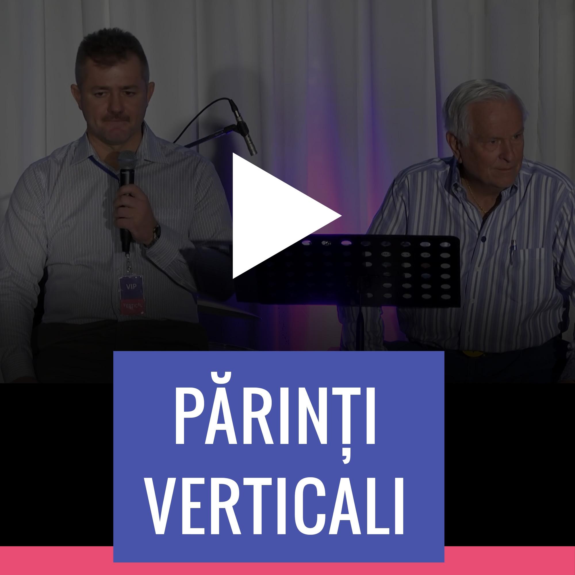 Josh McDowell – Părinți Verticali – Acces Online